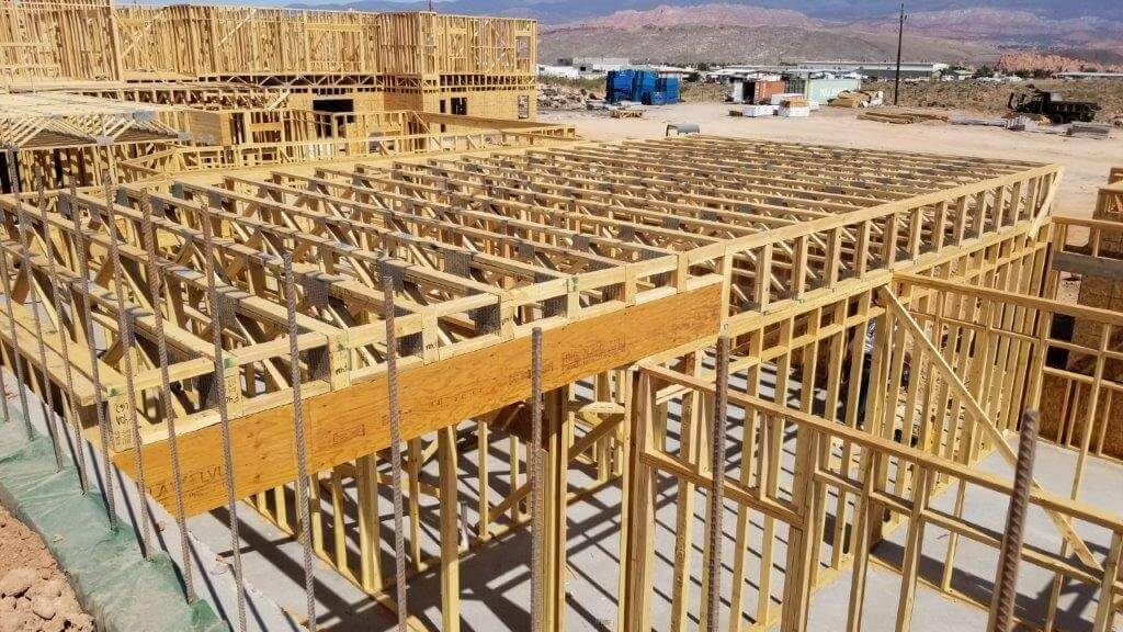 A Truss Floor Trusses